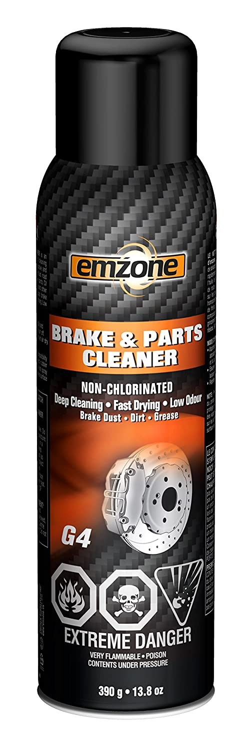 emzone Brake and Parts Cleaner (Non-Chlorinated), 13.8 Ounces 45040