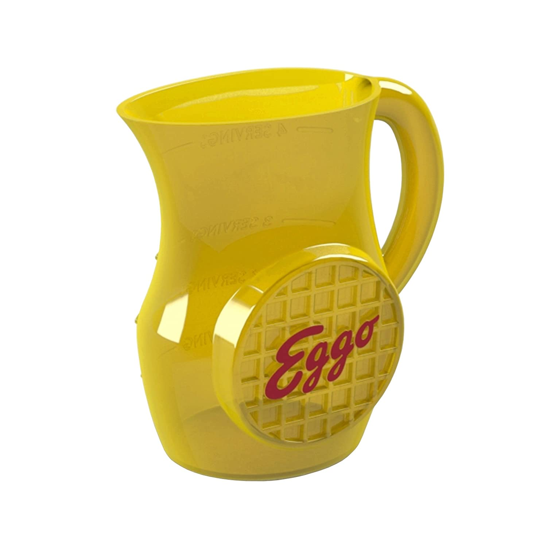 Jokari Kellogg s Eggo marca Jarabe para microondas jarra: Amazon ...