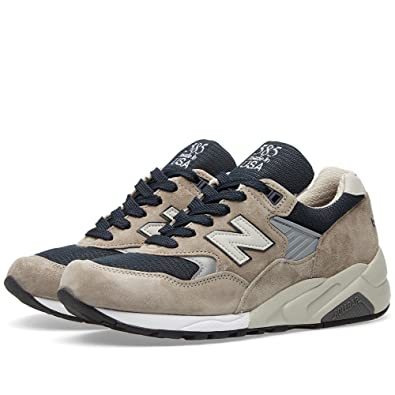 New Balance Men 585 Bringback M585GR - Made In USA (gray / navy)