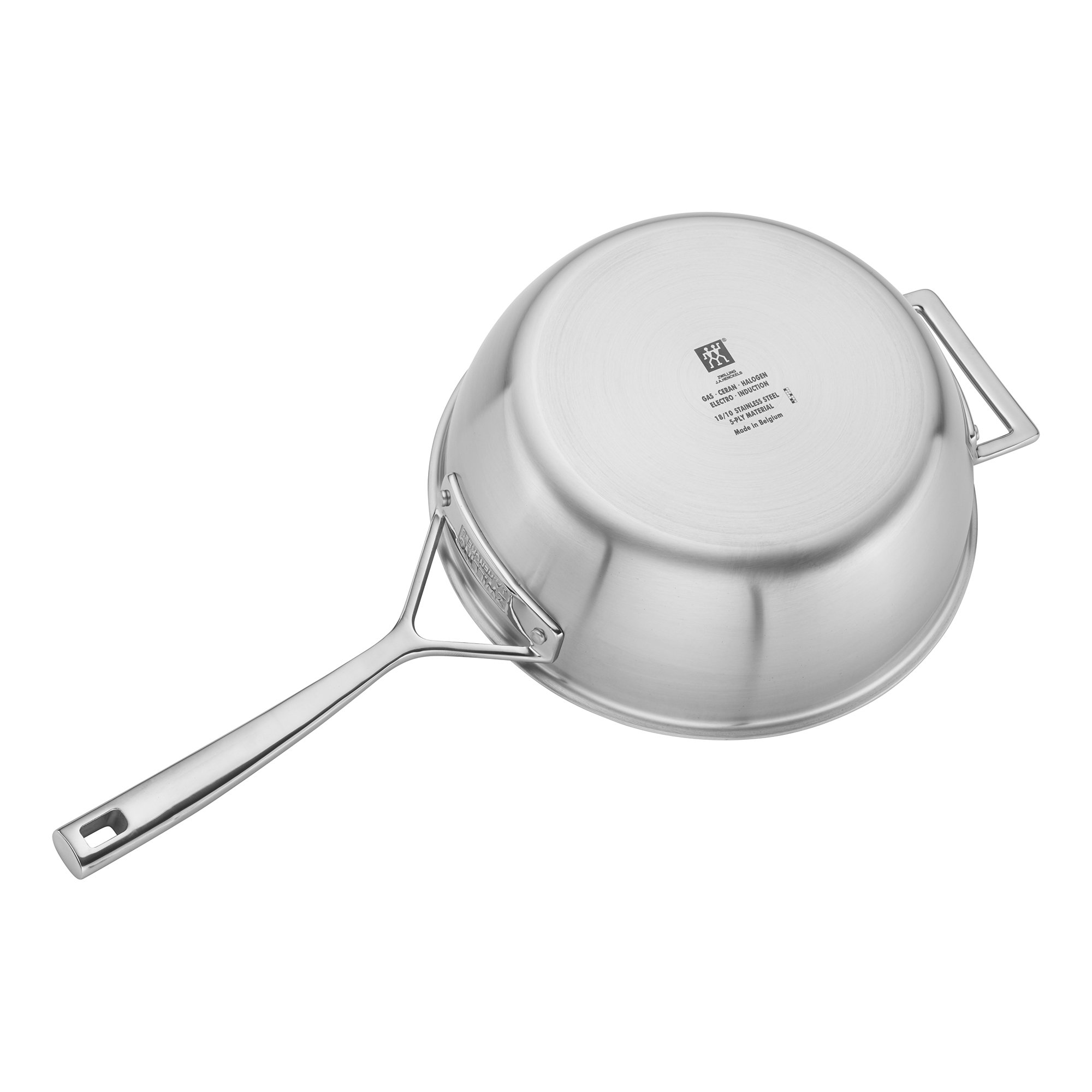 ZWILLING J.A. Henckels 66080-240 Saucier, 3.5 quart, Stainless Steel by ZWILLING J.A. Henckels (Image #2)