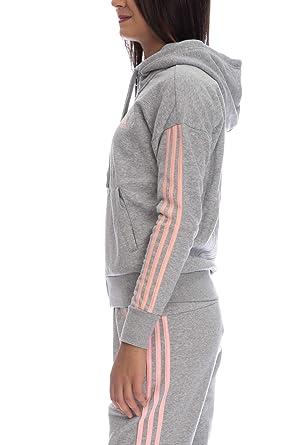 Adidas ESS 3s FZ HD Chaqueta, Mujer: : Ropa y accesorios