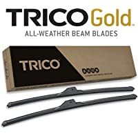 TRICO Gold 22 Inch Pack of 2 Automotive Replacement Windshield Wiper Blades for My Car (18-2222)