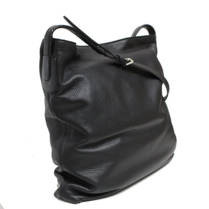 37e738025f8 GUCCI Men s Black Leather Messenger Bag 337077  Amazon.ca  Clothing    Accessories