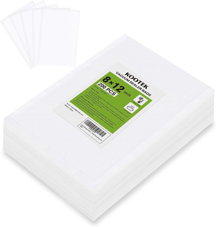 Kootek 200 Quart Vacuum Sealer Bags 8