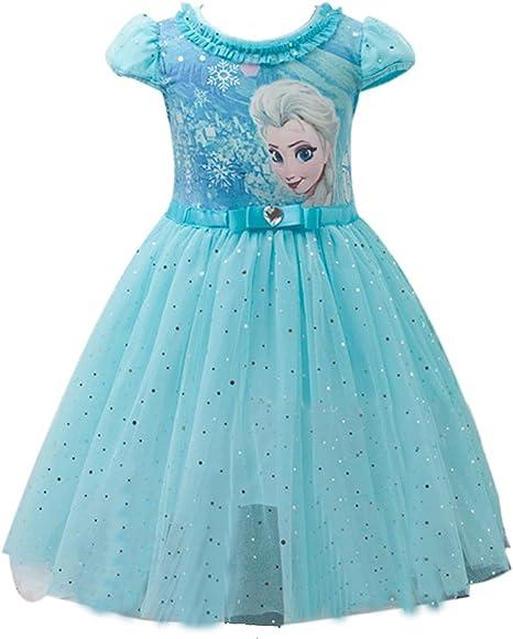 Amazon.com: Eyekepper - Vestido de malla con diseño de Elsa ...