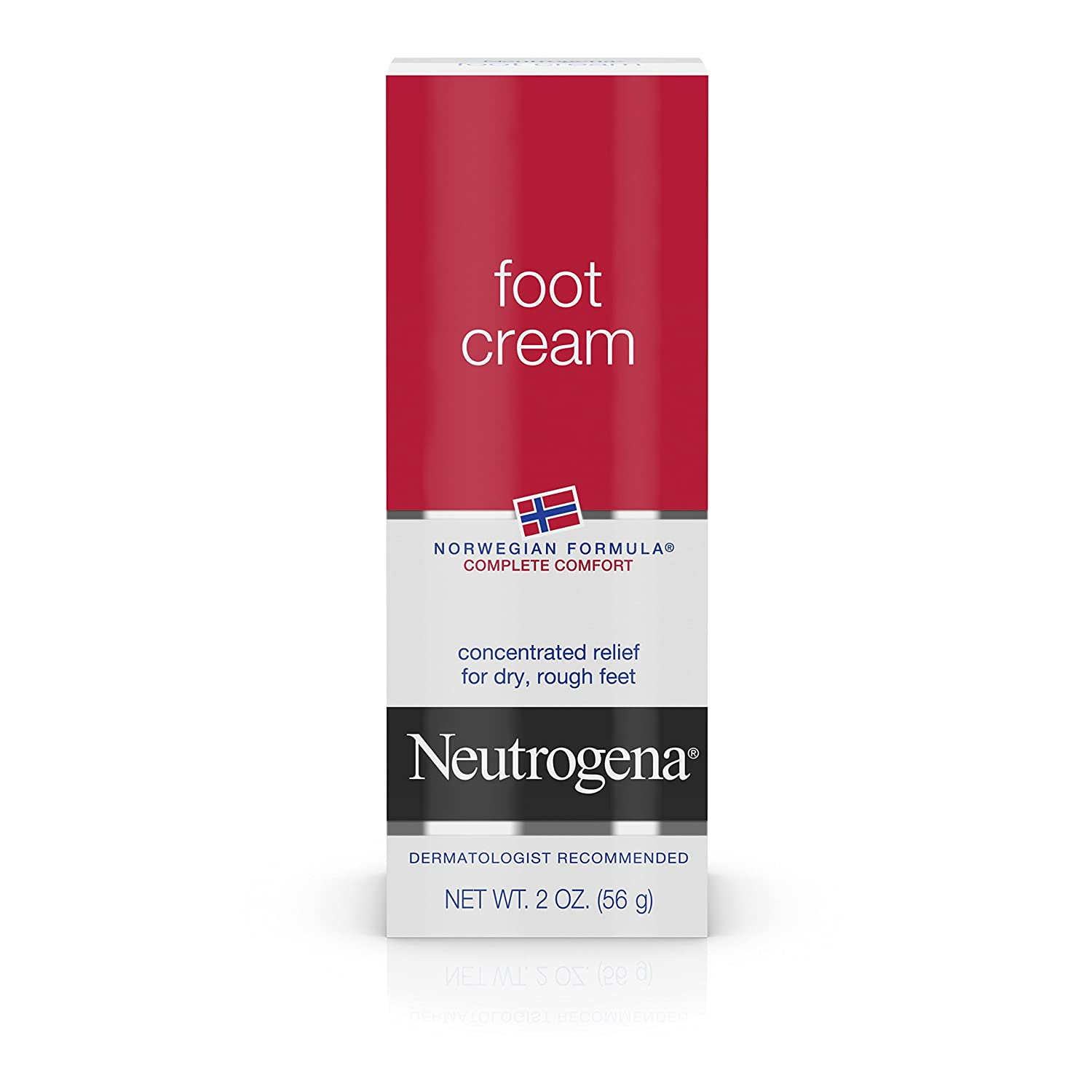 Neutrogena Norwegian Formula Foot Cream for Dry Rough Feet, 2 Ounce (Pack of 4) J&J CONSUMER INC 070501240007
