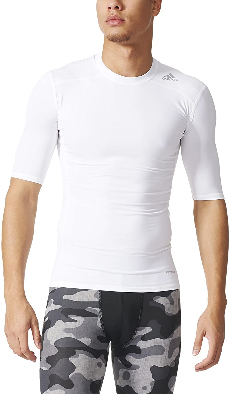 adidas Techfit Base - Camiseta de manga corta para hombre: Amazon ...