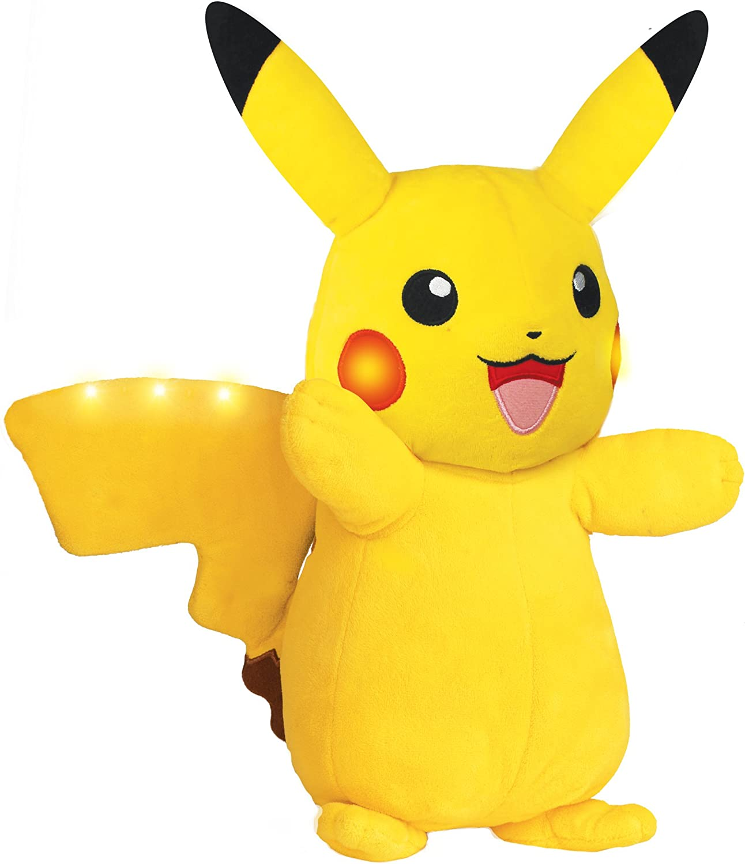 Pokemon Power Action Lights up /& Movement Pikachu