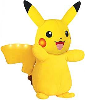 Pokémon Plush, Power Action Interactive Pikachu Pokemon Comes with Movement Sensors, Lights and Sounds