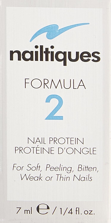 Nailtiques Nail Protein Formula 2, 0.25 Fl. Oz Pack of 1
