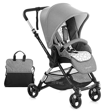 Jane minnum carrito de bebé, cochecito cochecito, ligero – rocas