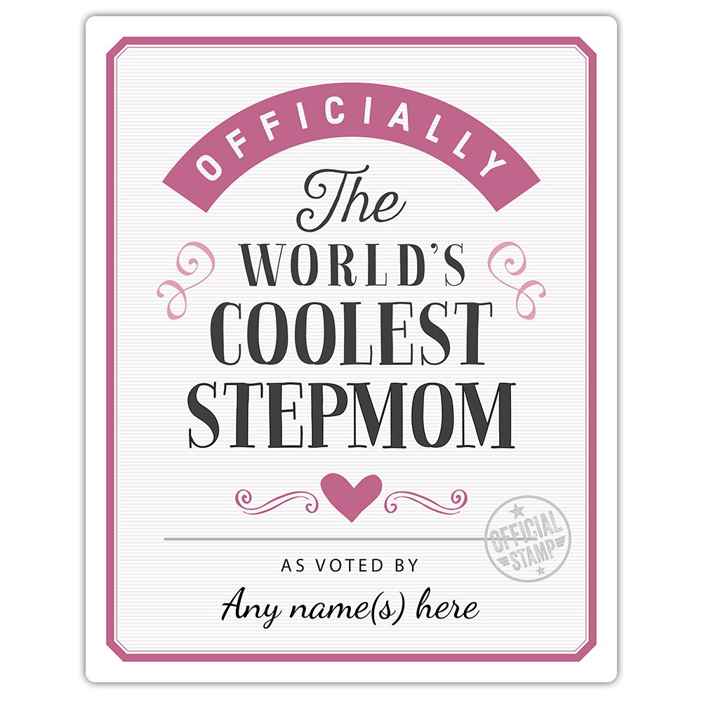 Stepmom Gift, Personalised, Custom Made, Coolest Stepmom, Stepmom ...