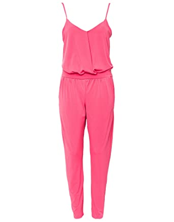 07dca18aba9 Lipsy Women s Strappy Jumpsuit Pink Size EU 40 96% polyester and 4%  elastane.