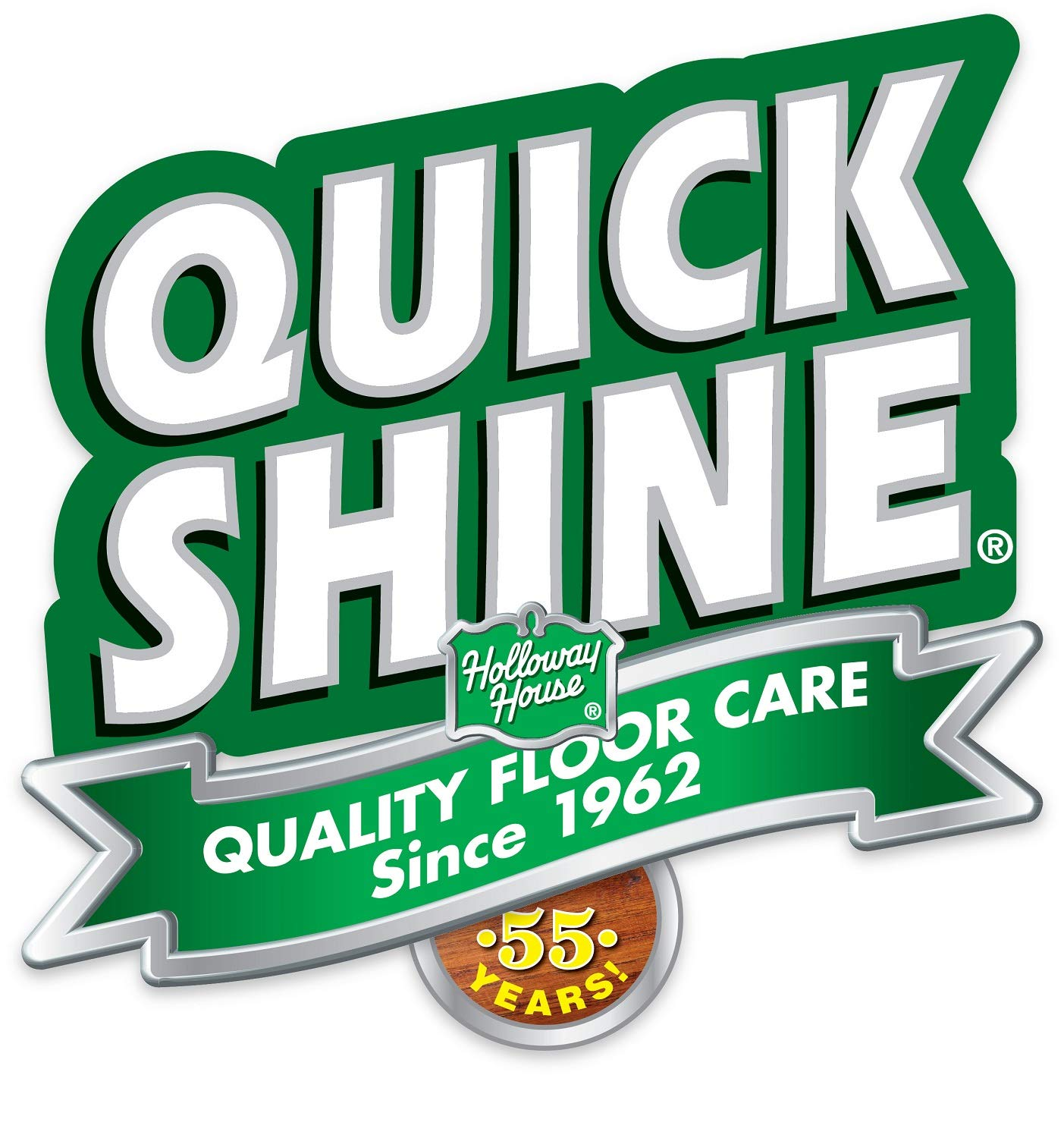 Quick Shine Multi-Surface Floor Finish and Polish, 64 Ounce, 4 Pack