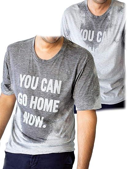LeRage You Can Go Home Now Hidden Message Gym Shirt Funny Workout Tee   Amazon.de  Bekleidung 23d4370e29