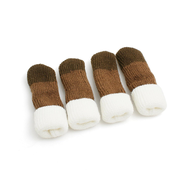 24 Stk Stuhlbeinsocke Stuhlbeinsocken Stuhl-Socken Möbelgleiter Fußbodenschoner