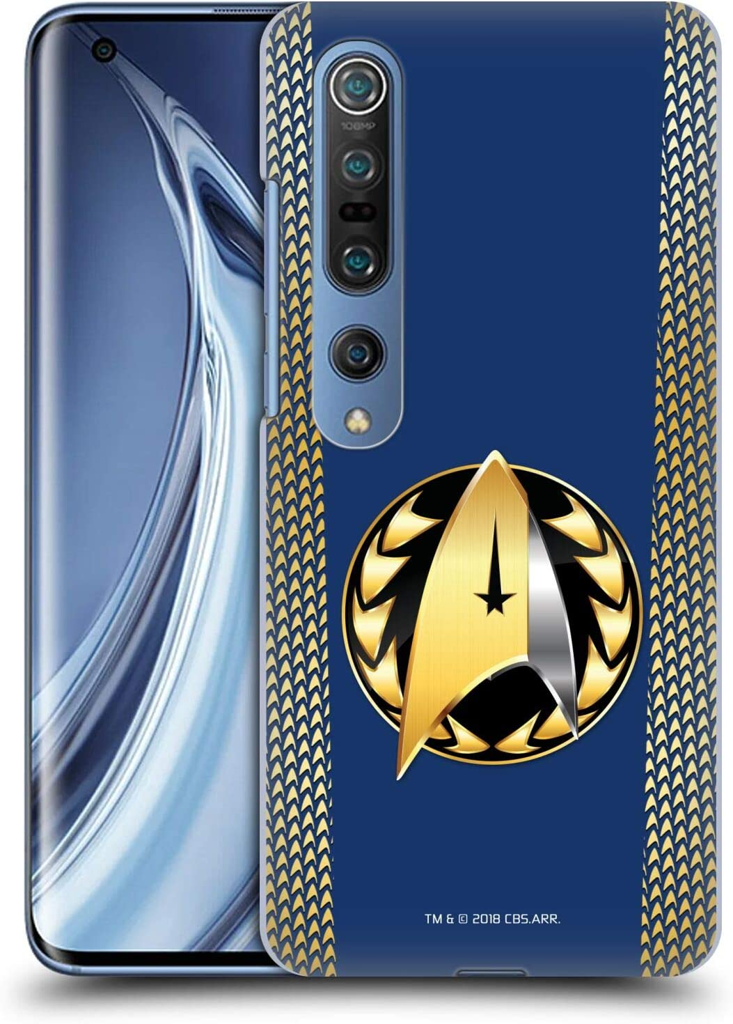 Head Case Designs Officially Licensed by Star Trek Discovery Admiral Badge Uniforms Hard Back Case Compatible with Xiaomi Mi 10 5G