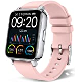 """chalvh Smart Watch for Women, 1.69"""" Touch Screen Smartwatch for iPhone Android, IP67 Waterproof Fitness Tracker with Heart Ra"""