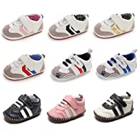 BENHERO Baby Boys Girls Canvas Sneaker First Walker Shoes 0-18 Months
