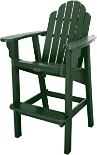 product image for Nags Head Hammocks Classic Bar Dining Chair, Forest Green