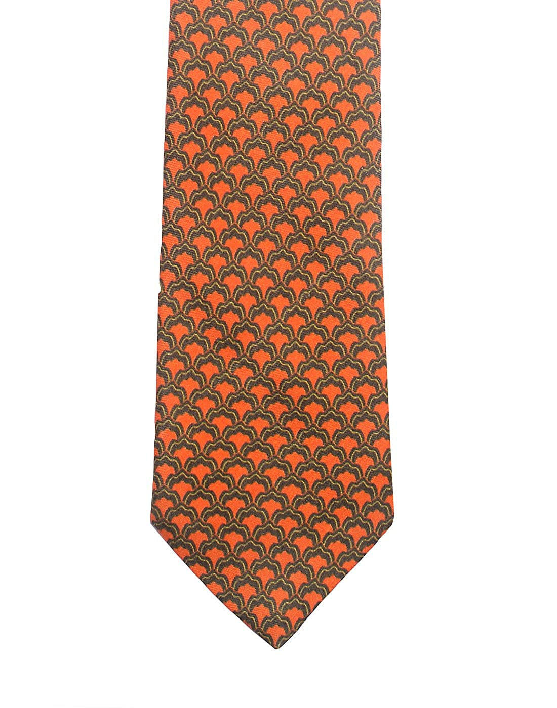 Chokore Grey /& Red Silk Tie Indian at Heart line