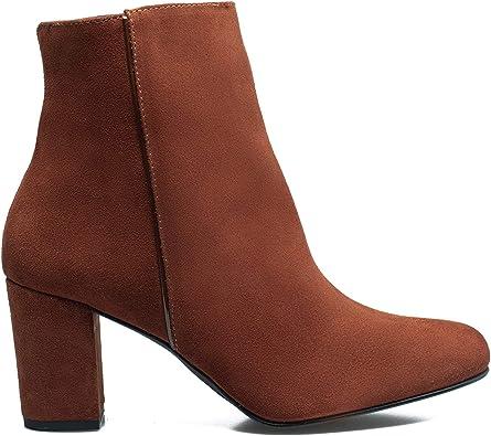 Zapatos miMaO. Zapatos Piel Mujer Hechos EN ESPAÑA. Botín Elegante ...