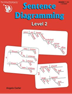 Amazon diagraming sentences 9781580372824 deborah white sentence diagramming level 2 breakdown and learn the underlying structure of sentences grades 7 ccuart Gallery