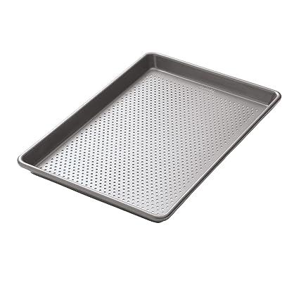 Plaque /à biscuits 60 x 40 cm WIESHEU ELOMA MIWE BONGARD Plaque de cuisson /à plaque perfor/ée Plaque /à baguette Plaque P/âtissi/ère