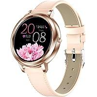 Ametoys Women Smart Watch,Touch Screen,IP67 Waterproof,Fitness Tracker,Information Reminder,Sleeping、Heart Rate、Blood…