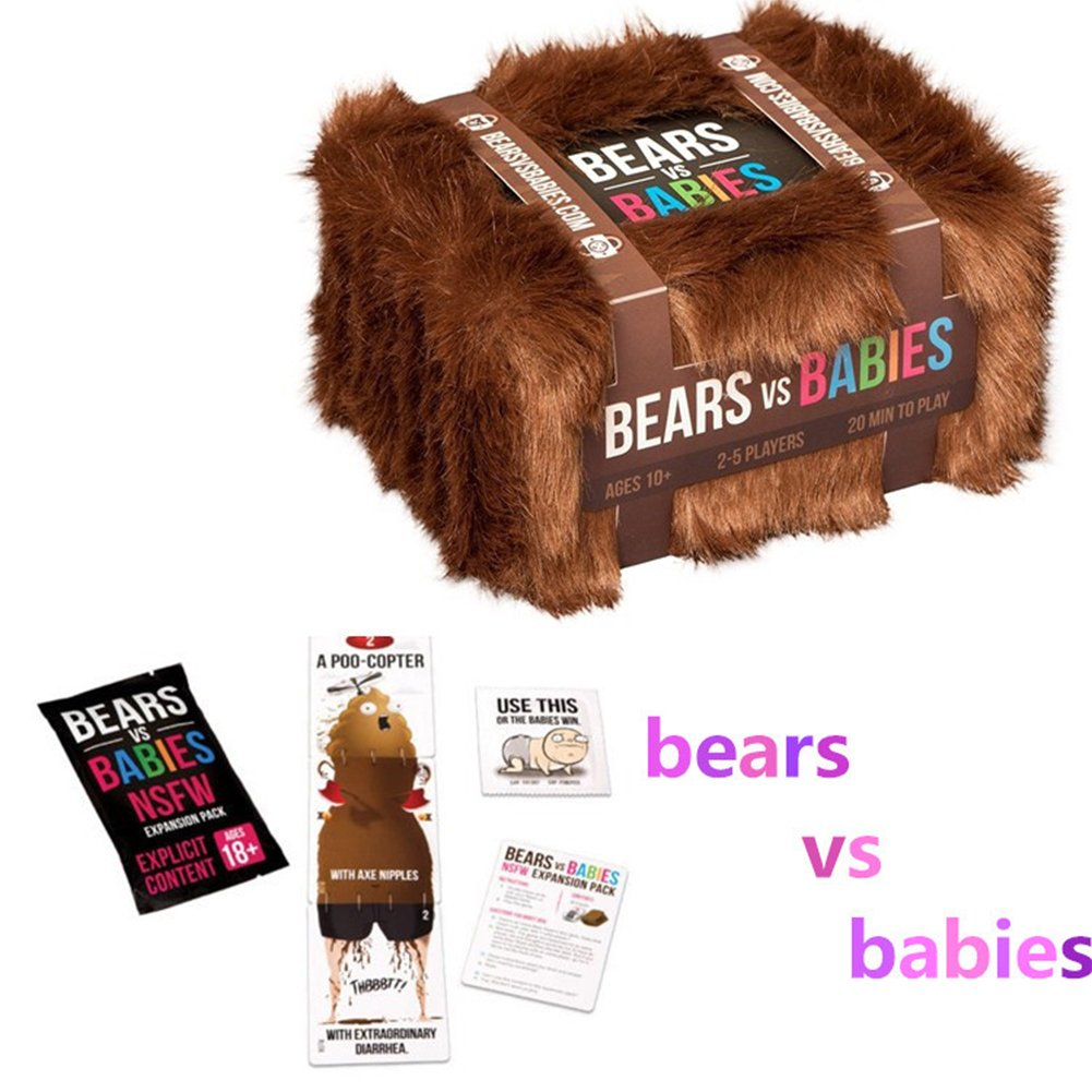Studyset Exploding Kitten Card Game Bear VS Babies Kittens Board Card Game Playing Cards Toys