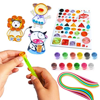 Amazon Com Paper Quilling String Kits Here Fashion Paper Crafts
