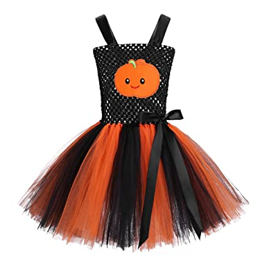 f6bedb3d9f8f83 TiaoBug Enfant Fille Déguisement Halloween Robe de Princesse Tutu ...