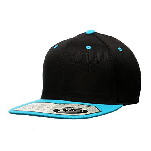 9daefaf6692 Image Unavailable. Image not available for. Color  Premium Blank Flexfit  Yupoong 110F Wool Blend Solid Snapback Cap Hat   2-Tone