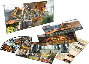Asmodee 7 Wonders: Expansión de paquete Wonder: Amazon.es: Juguetes y juegos