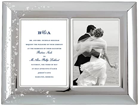 Kate Spade New York Gardner Street Double Invitation Frame