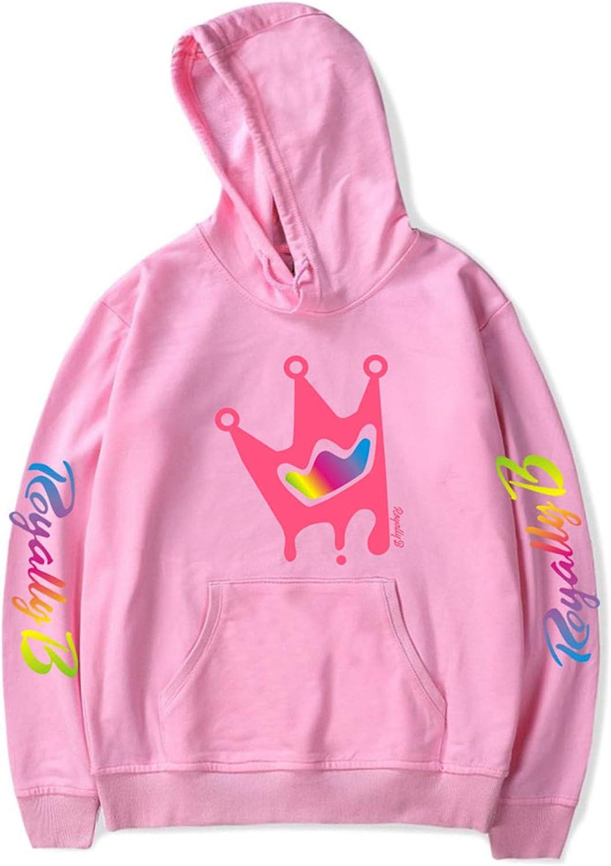 LOAJND Royally B Logo Hoodie Pullover Sweatshirt for Teens//Kids//Adults