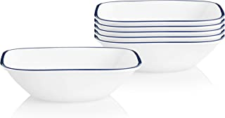 product image for Corelle Chip Resistant Soup and Cereal Bowls, 6-Piece, Lia