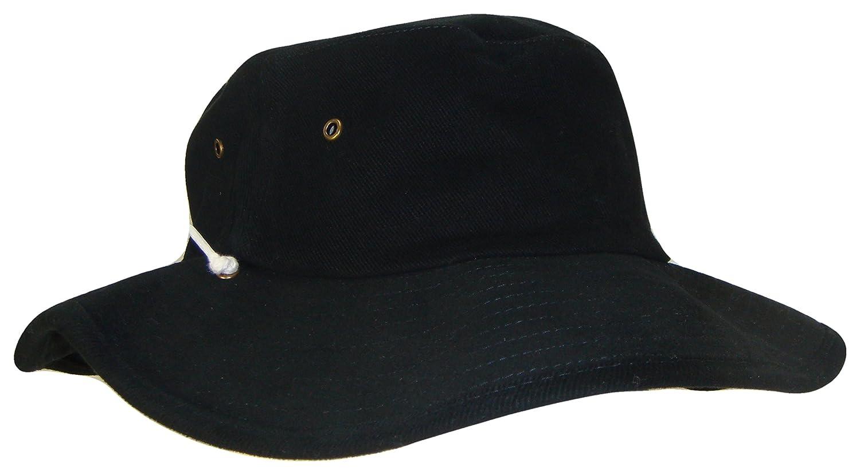 Australian Outback Drawstring Bucket Hat (Black 151e3adda95