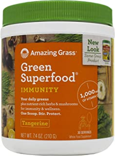 product image for Amazing Grass Immunity Green SuperFood - 240g (0.53lbs)