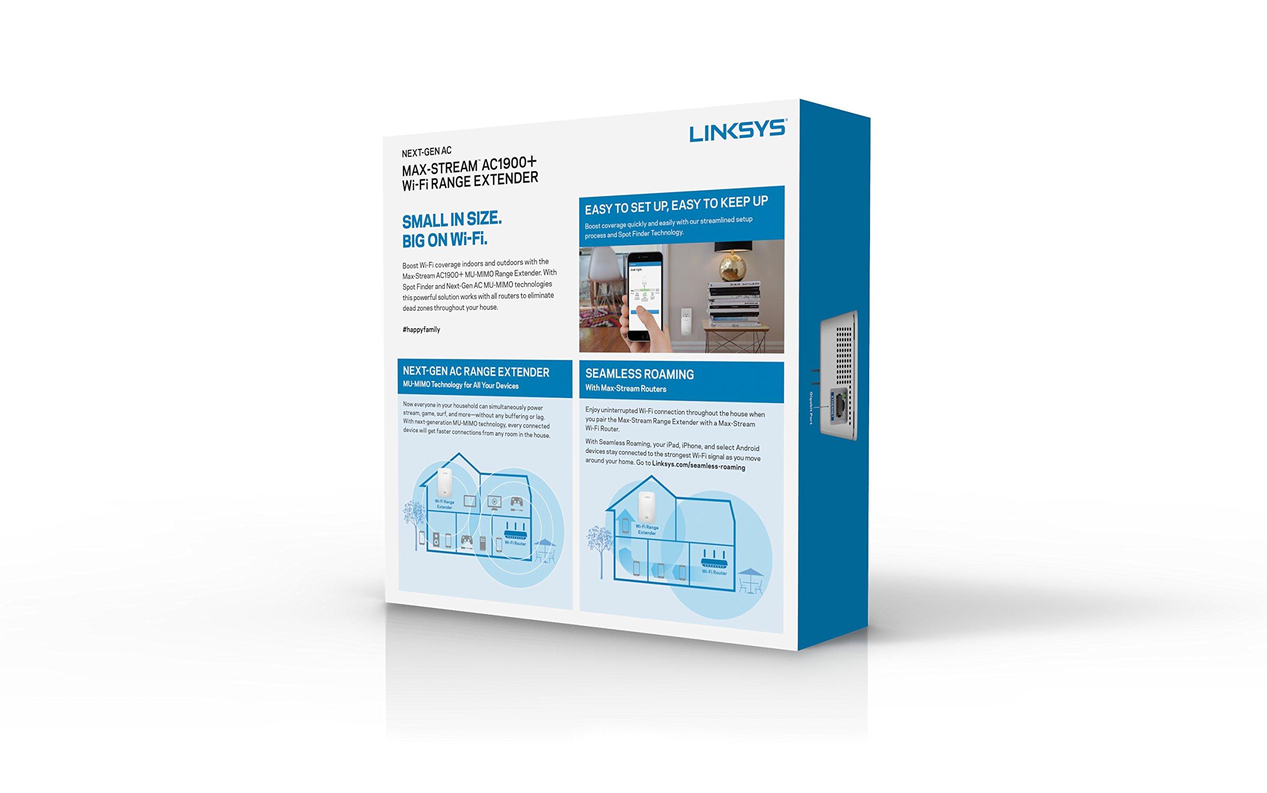 Linksys AC1900 Gigabit Range Extender / - TiendaMIA com