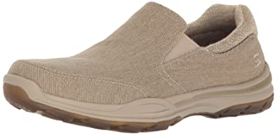Skechers USA Men's Elment Campo Slip-on Loafer,Tan,7 ...