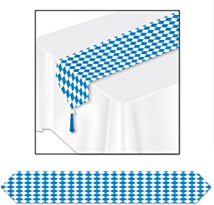 Printed Oktoberfest Table Runner Party Accessory (1 count) (1/Pkg)