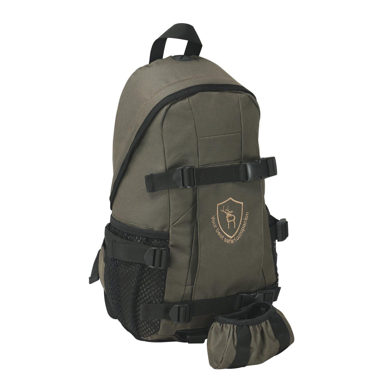 tourbon pequeño caza mochila día Pack Rusack con rifle pistola soporte–verde