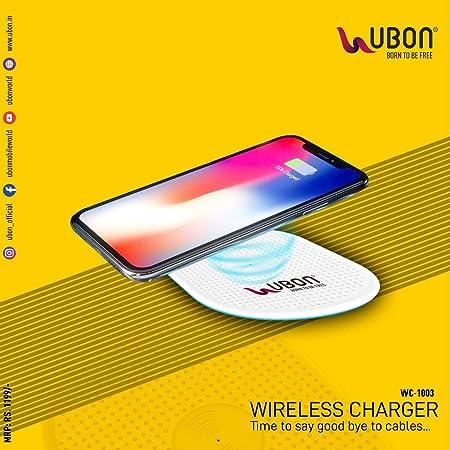 UBON Wireless Charging Pad  White