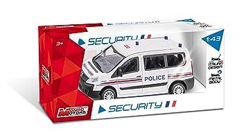 Vehicule 53133 Gendarmerie Peugeot Pompiers Modèle Boxer Police Aléatoire Miniature Mondo VzMUpS