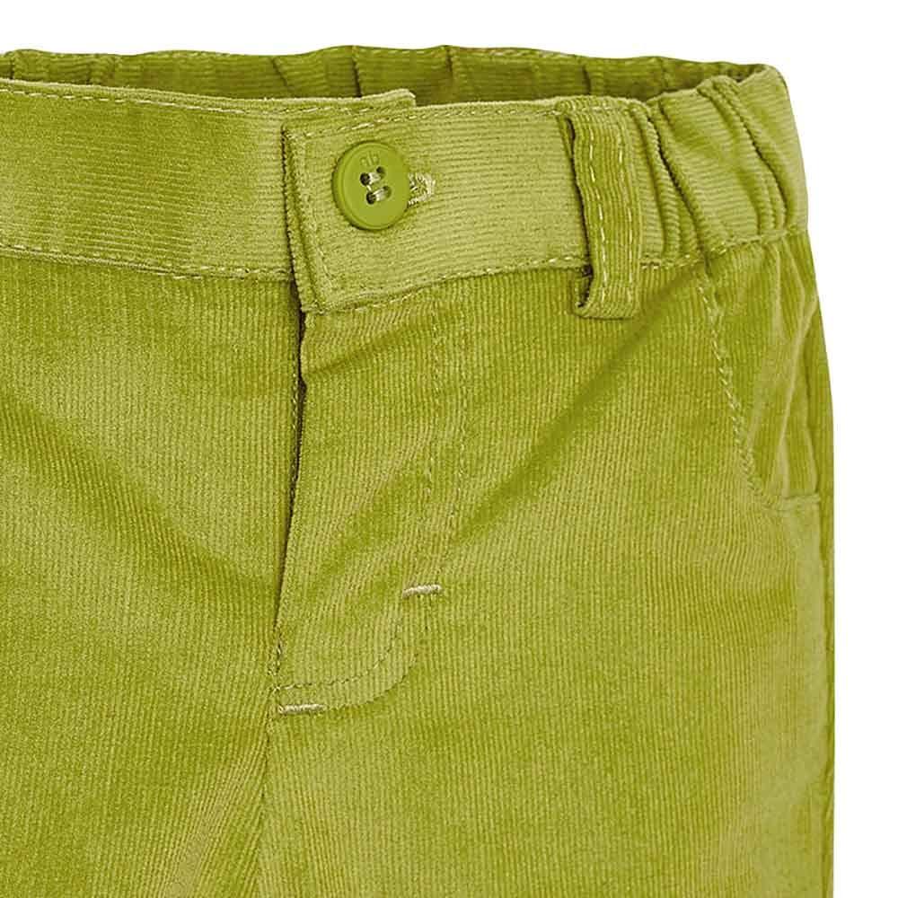 Soft Corduroy Pants Mayoral Boys Green Guacamole