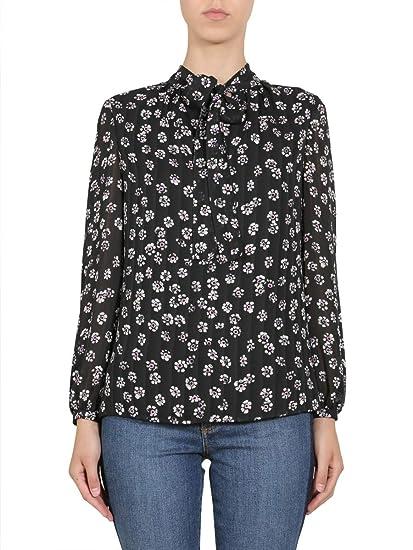 8b35035c96df6 Tory Burch Women s 46783016 Multicolor Silk Shirt  Amazon.co.uk  Clothing