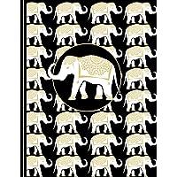 Thai White Elephant: Dot Grid Journal Writing Book