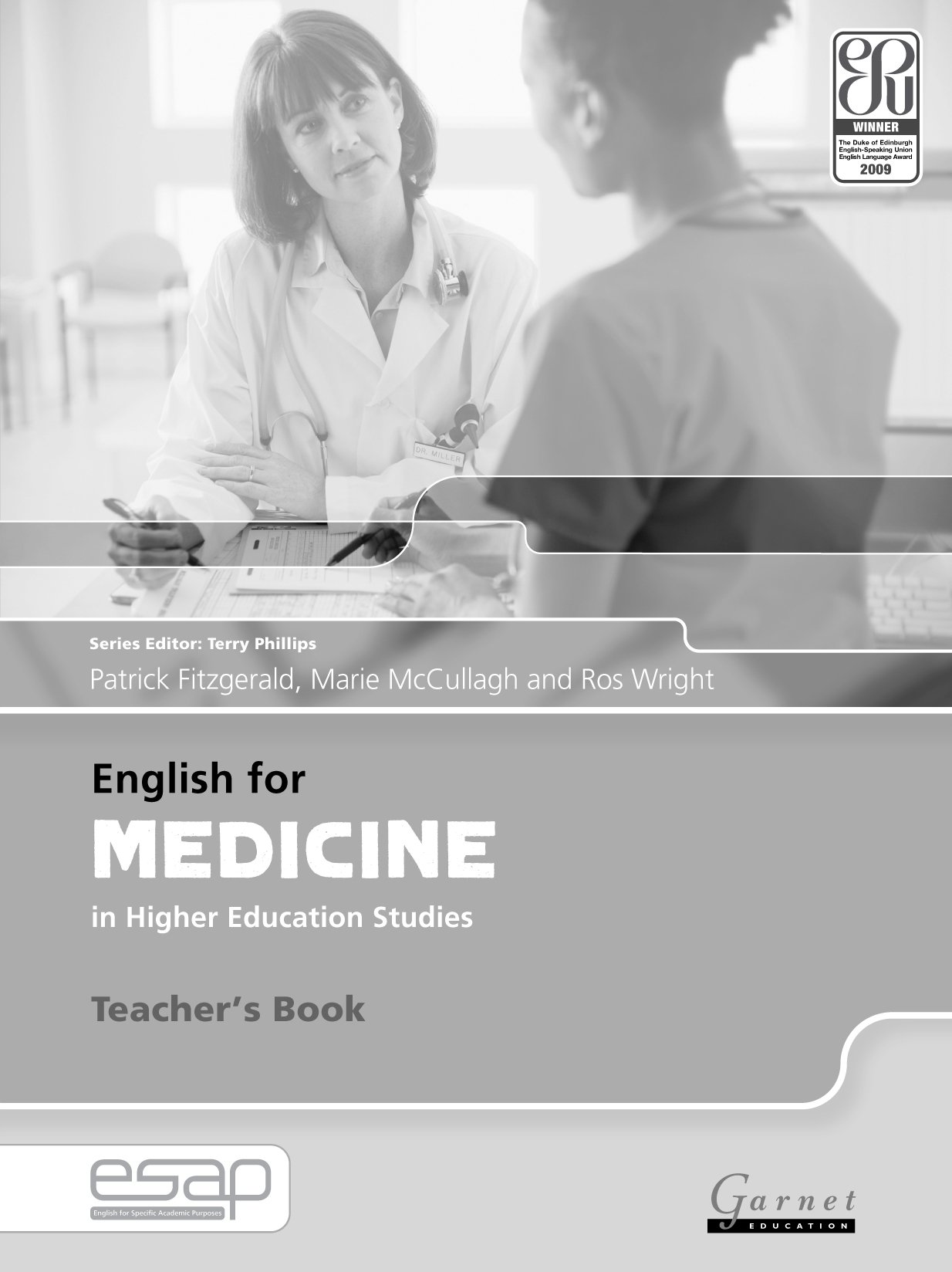 English for Medicine Teacher Book (English for Specific Academic Purposes) ebook