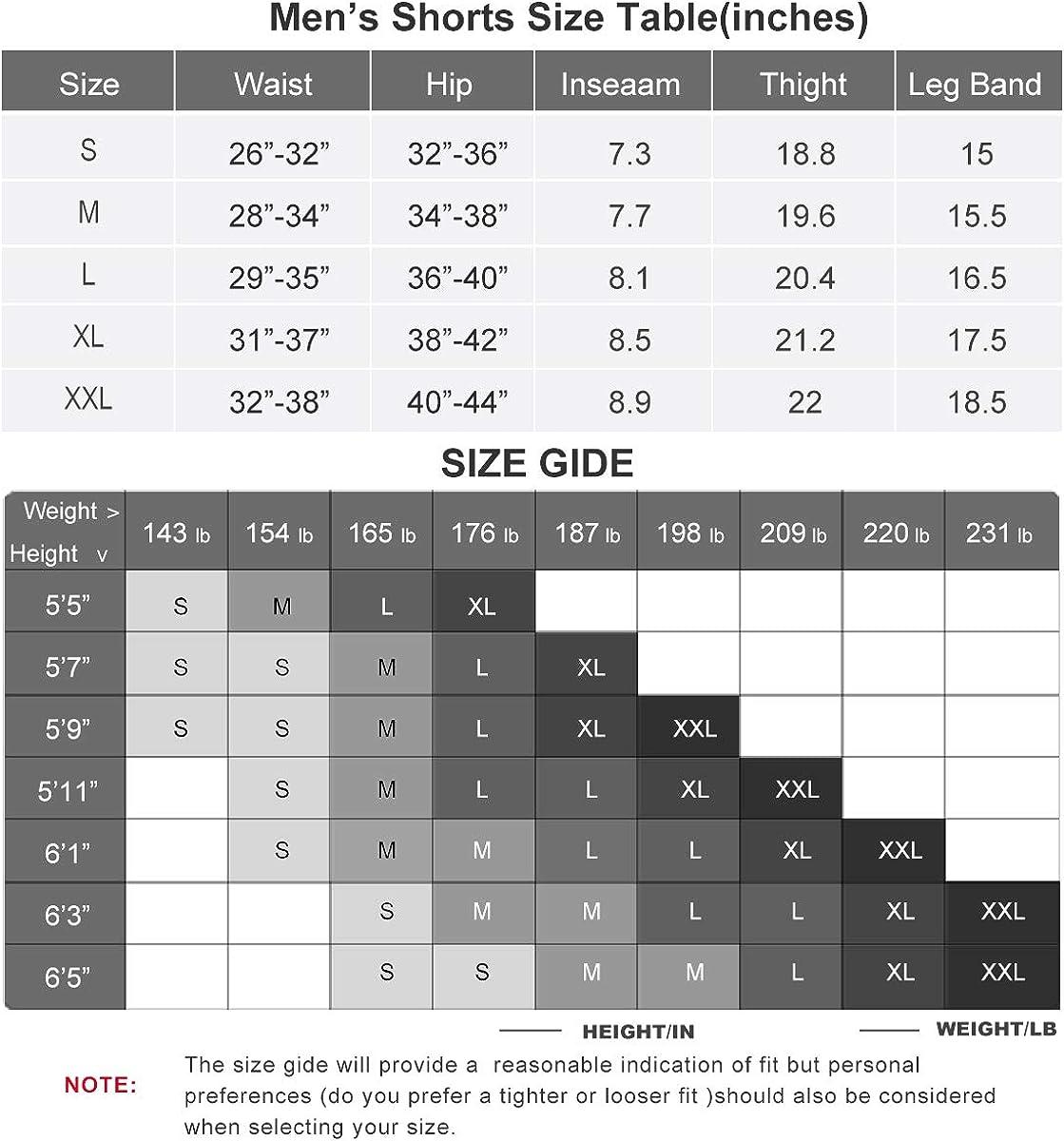 XGC Short de cyclisme pour homme avec rembourrage en /éponge 4D haute densit/é et haute /élasticit/é et tr/ès respirant